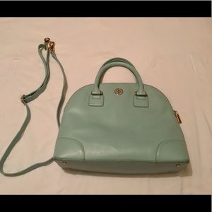 Tory Burch Robinson Mint Bag